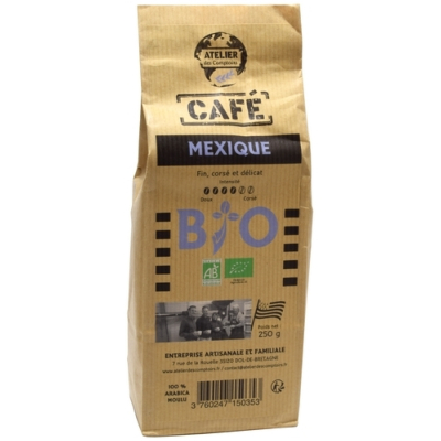 CAFÉ MOULU MEXIQUE 250g