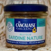 RILLETTES DE SARDINE NATURE 100g